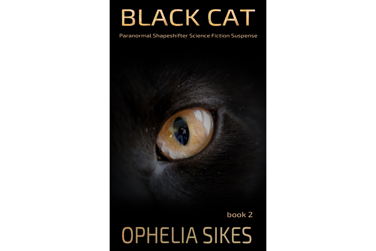 Ophelia Sikes Black Cat 2